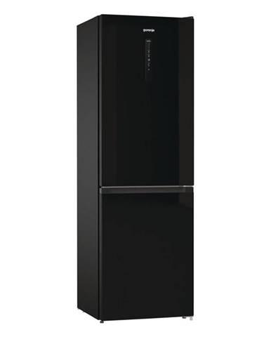 Kombinácia chladničky s mrazničkou Gorenje Nrk6192abk4 čierna