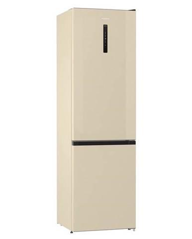 Kombinácia chladničky s mrazničkou Gorenje Nrk6202ac4 béžov
