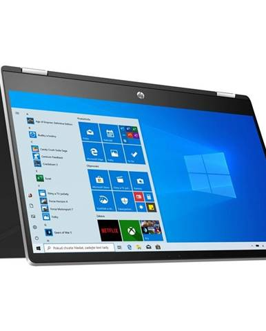 Notebook HP Pavilion x360 15-dq1600nc strieborný