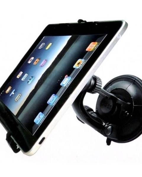 WG Držiak na tablet WG 2v1, na sklo a opěrku hlavy čierny