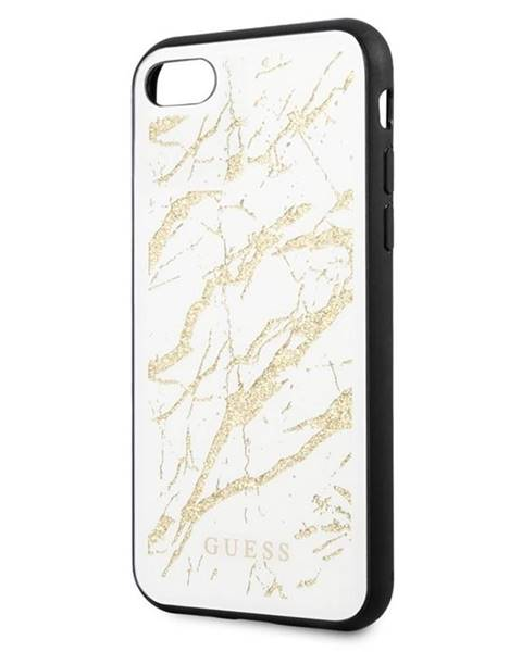 Guess Kryt na mobil Guess Glitter Marble na Apple iPhone 8/SE