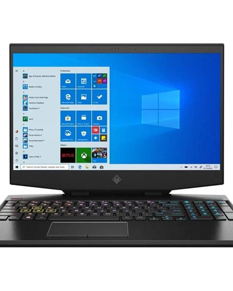 HP Notebook HP Omen 15-dh1001nc čierny