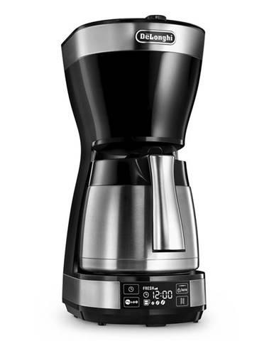 Kávovar DeLonghi ICM 16731 čierny/strieborn