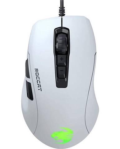 Myš  Roccat Kone Pure Ultra Light RGB biela