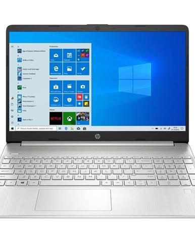 Notebook HP 15s-fq1009nc strieborný
