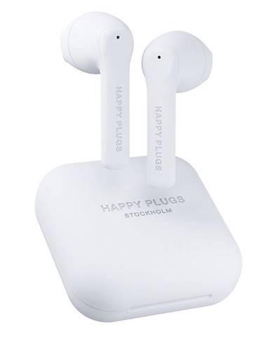 Slúchadlá Happy Plugs Air 1 Go biela
