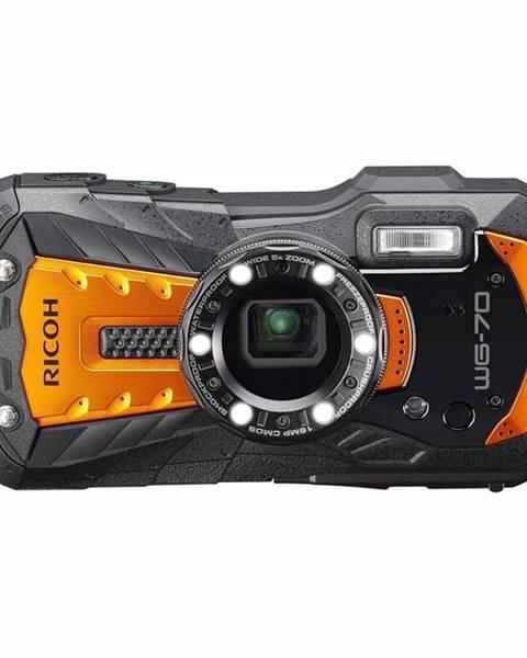 Ricoh Digitálny fotoaparát Ricoh WG70 oranžov