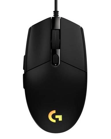Myš  Logitech Gaming G203 Lightsync čierna