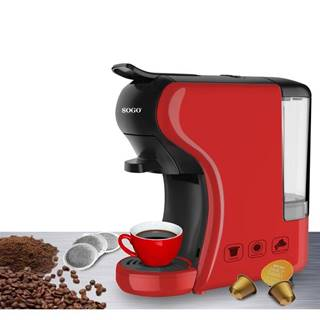 Espresso Sogo SS-5675-R červen