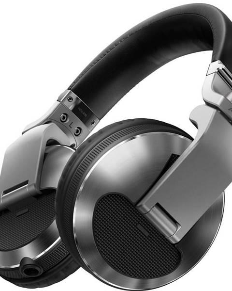 Pioneer Slúchadlá Pioneer DJ HDJ-X10-S strieborná