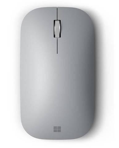 Myš  Microsoft Surface Mobile MoBluetooth 4.0 strieborné
