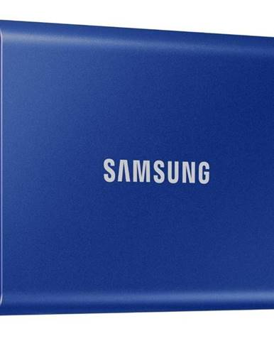 SSD externý Samsung T7 500GB modrý