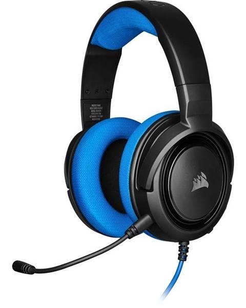 CORSAIR Headset  Corsair HS35 čierny/modrý