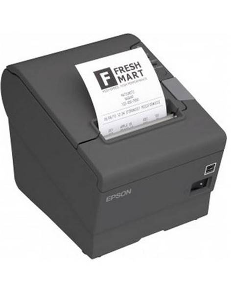 Epson Tlačiareň pokladničná Epson TM-T88V sivá pokladní, termální, USB,