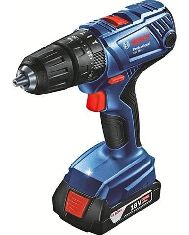 Aku vŕtačka Bosch GSB180-LI+2x2.0+case 0.601.9F8.307