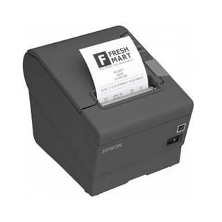 Tlačiareň pokladničná Epson TM-T88V sivá pokladní, termální, USB,