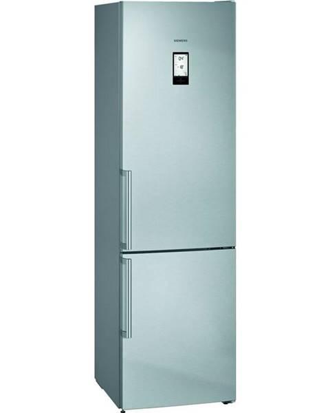 Siemens Kombinácia chladničky s mrazničkou Siemens iQ500 Kg39naieq nerez