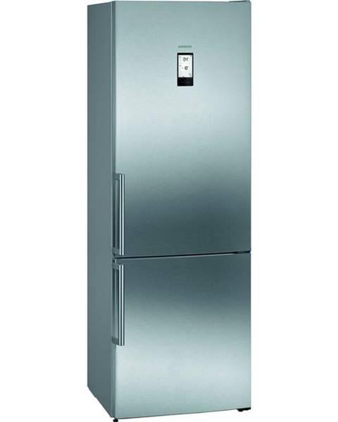 Siemens Kombinácia chladničky s mrazničkou Siemens iQ500 Kg49naidp nerez