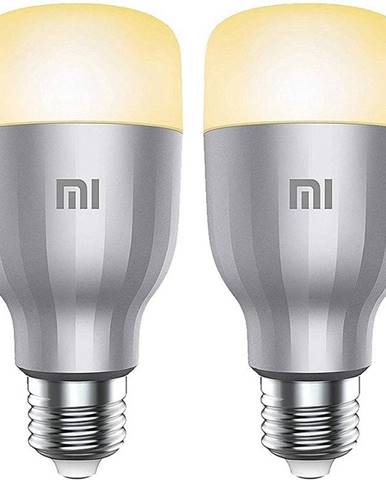 Inteligentná žiarovka Xiaomi Mi LED Colorful, 10W, E27, RGB