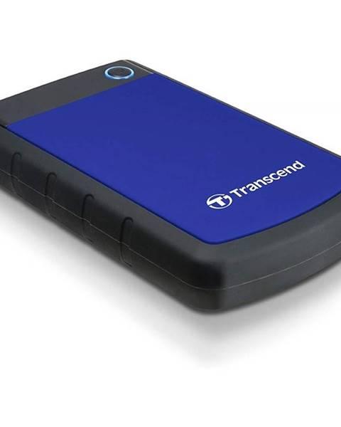 Transcend Externý pevný disk Transcend StoreJet 25H3B 4TB čierny/modrý