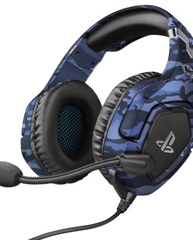 Headset  Trust GXT 488 Forze-B Sony PS4 Licensed modrý