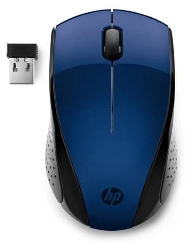 Myš  HP 220 modrá