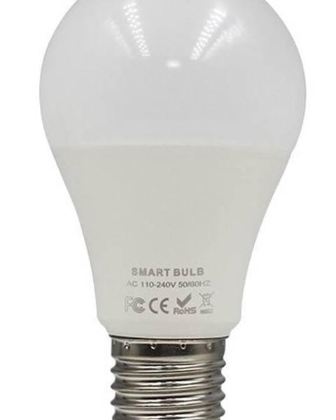 Iqtech Inteligentná žiarovka iQtech SmartLife WB011, Wi-Fi, E27, 9 W, bílá