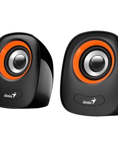 Genius Reproduktory Genius SP-Q160 čierne/oranžové