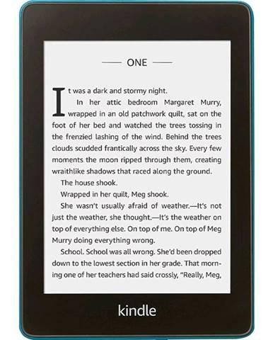 Čítačka kníh Amazon Kindle Paperwhite 4 2018 s reklamou modrá