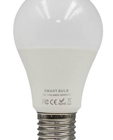 Inteligentná žiarovka iQtech SmartLife WB011, Wi-Fi, E27, 9 W, bílá
