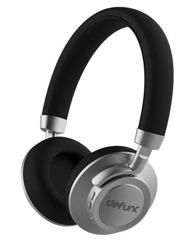 Slúchadlá Defunc BT Headphone Plus čierna/strieborn