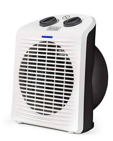 Teplovzdušný ventilátor Black+Decker Bxsh2000e biely