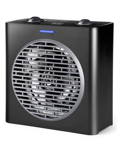 Teplovzdušný ventilátor Black+Decker Bxsh2003e čierny