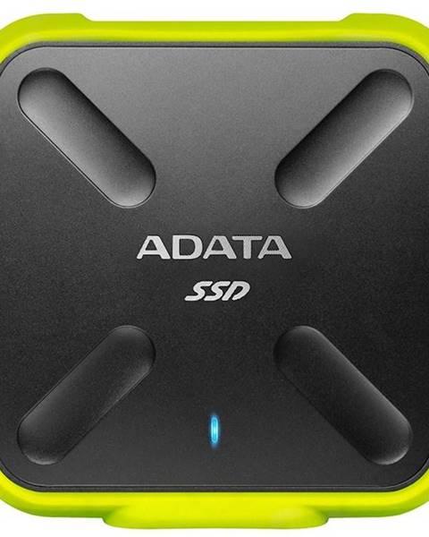 ADATA SSD externý Adata SD700 256GB čierny/žltý