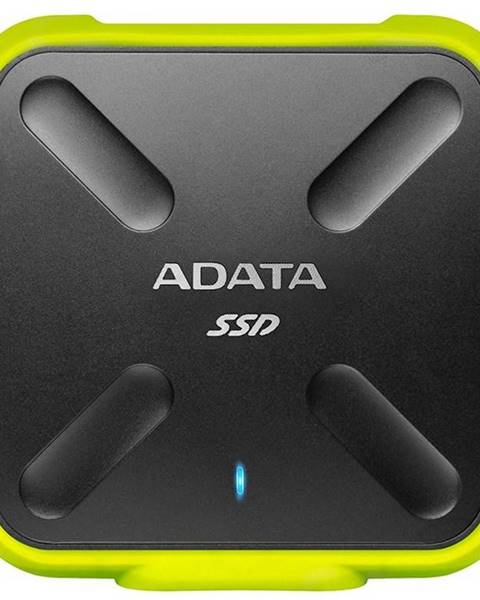 ADATA SSD externý Adata SD700 512GB čierny/žltý