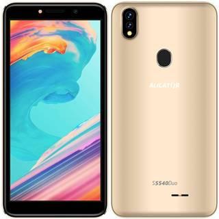Mobilný telefón Aligator S5540 Dual SIM zlatý