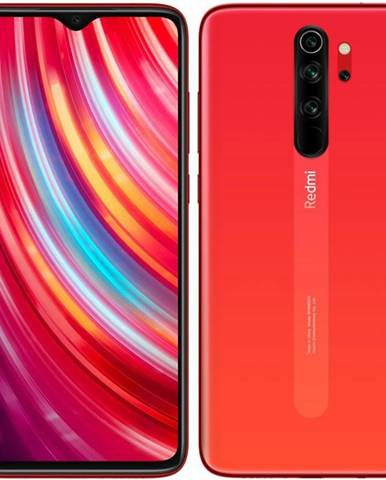 Mobilný telefón Xiaomi Redmi Note 8 Pro 128 GB červený/oranžový