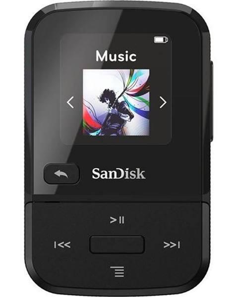 Sandisk MP3 prehrávač Sandisk Clip Sport Go 32 GB čierny