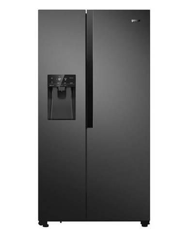 Americká chladnička Gorenje Nrs9182vb čierna