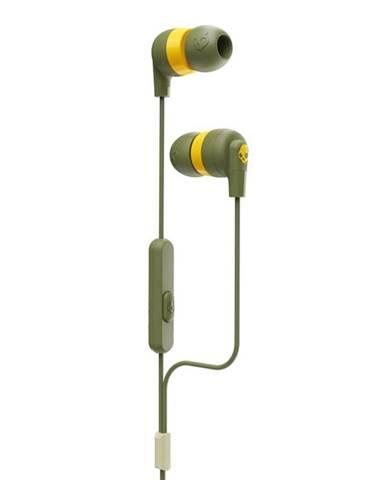Slúchadlá Skullcandy Inkd+ In-Ear zelen