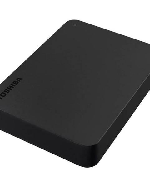 Toshiba Externý pevný disk Toshiba Canvio Basic 4TB čierny
