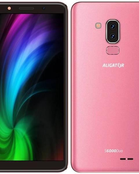 Aligator Mobilný telefón Aligator S6000 Dual SIM ružový