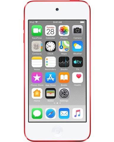 MP3 prehrávač Apple iPod touch 256GB červený