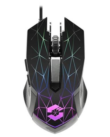 Myš  Speed Link Reticos RGB čierna
