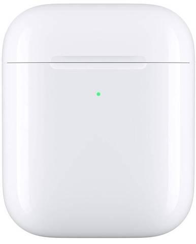 Púzdro Apple pre AirPods, bezdrôtové nabíjanie biele
