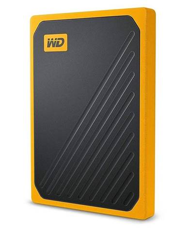 SSD externý Western Digital My Passport Go 512GB žltý