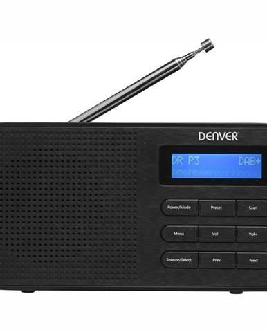 Rádioprijímač s DAB+ Denver DAB-42 čierny