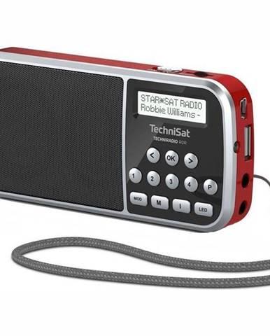 Rádioprijímač s DAB+ Technisat Techniradio RDR červen