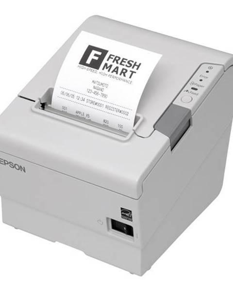 Epson Tlačiareň pokladničná Epson TM-T88V biela termální, LPT, USB, 300