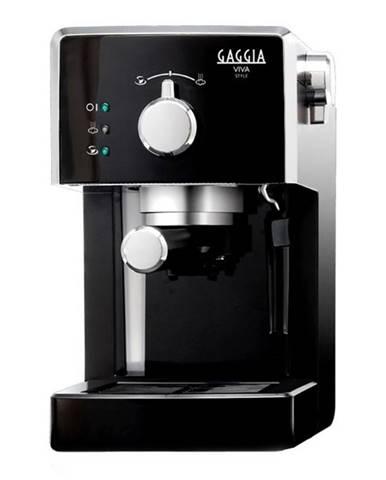 Espresso Gaggia Viva Style čierne